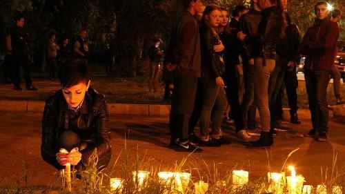 Tuerie de Kertch : Russes et Ukraniens unis par la douleur