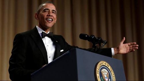 Barack Obama fait son show devant les correspondants de la Maison Blanche