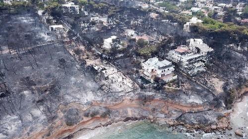 Incendies en Grèce : nouveau bilan et limogeage d'un ministre