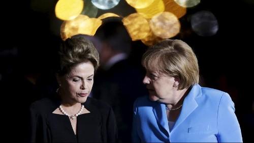 Merkel flies to Brazil for bilateral talks