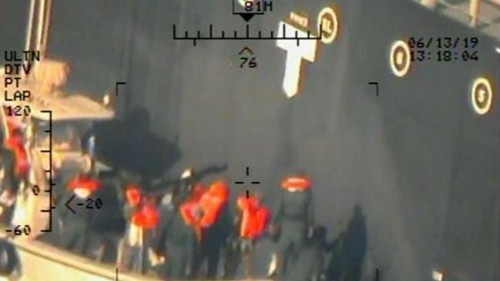 US military releases new images from oil tanker attacks