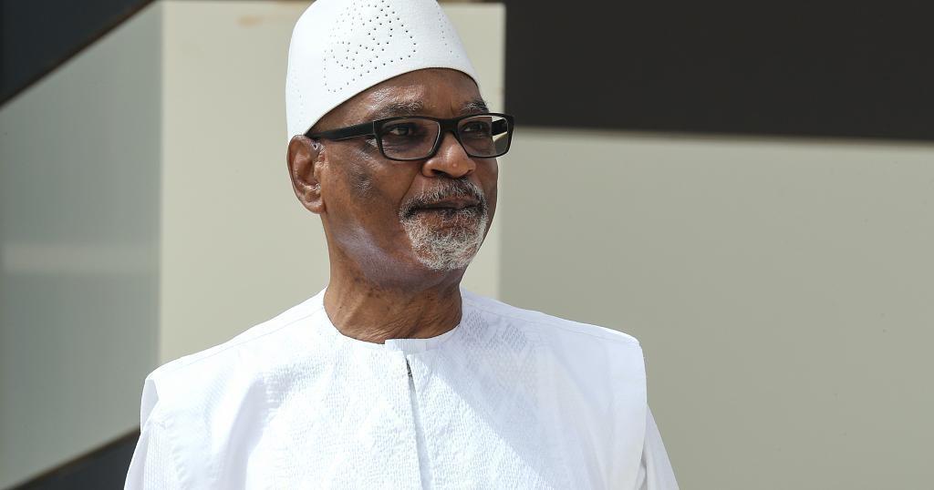 Mali's former president Keita returns after treatment in UAE | Africanews