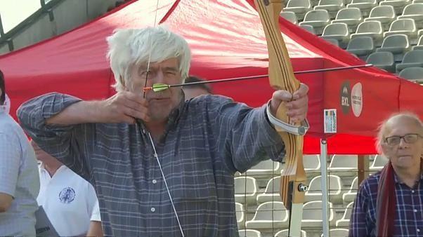 Watch: Age no barrier as elderly enjoy special Olympics in Belgium