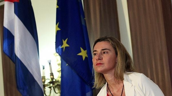 EU and Cuba to quicken push for deal, says Mogherini in Havana