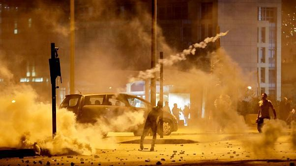 Lebanese ruling parties' offices burned after night of clashes