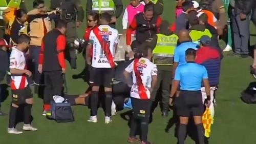 Tod im Stadion: Schiedsrichter (31) bei Fußballspiel zusammengebrochen