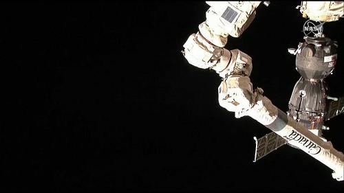 US-Russian crew reach International Space Station