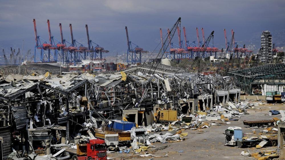 Neues Video der dramatischen Explosion im Hafen von Beirut