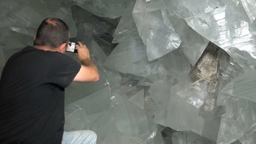 Watch: Europe's biggest crystal cave to open to public