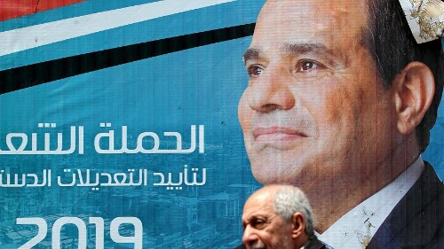 Egypt's president could stay in power until 2030