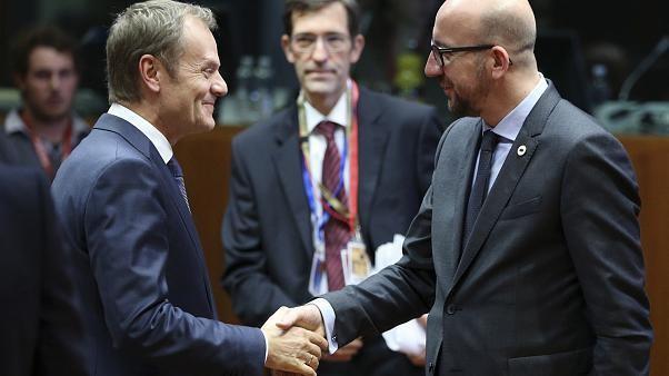 EU-Ratspräsidentschaft: Tusk übergibt an Charles Michel