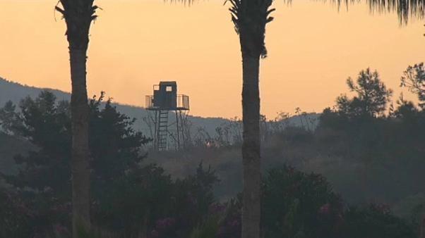شاهد: سلسلة انفجارات في مستودع ذخيرة شمال قبرص.. والسلطات تبدأ التحقيق