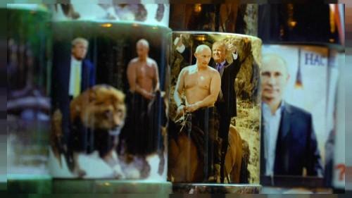 Putin: Der mit dem Bären kuschelt