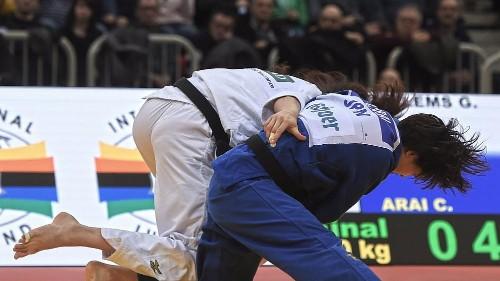 Judo Grand Slam: Miku Tashiro holt Gold gegenTina Trstenjak