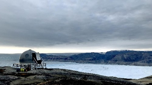My night stranded at one of Greenland's fastest-melting glaciers