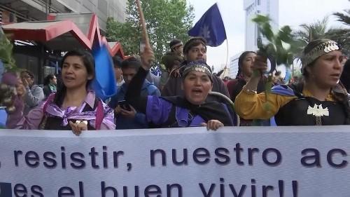 Chile: Mapuche-Indianer demonstrieren für mehr Rechte
