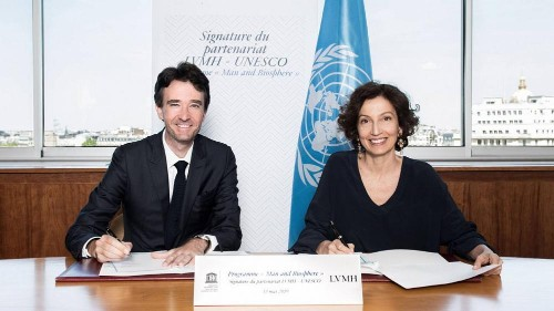 Fashion giant LVMH partners with UNESCO to achieve sustainable goals