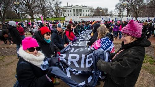 """Quatrième et dernière """"Marche des femmes"""" avant la présidentielle américaine"""