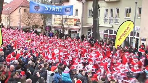 Corrida de Natal em Michendorf