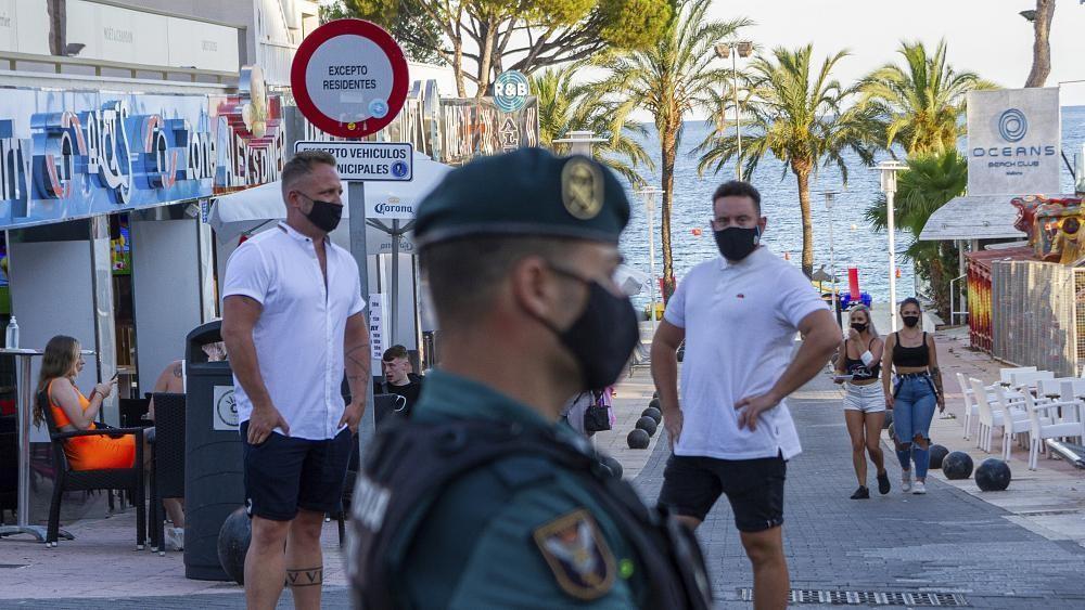 Party-Aus am Ballermann, Griechen kontrollieren Grenze