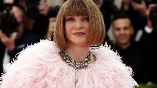 Vogue's Anna Wintour says clothes should be cherished, reworn and passed down generations