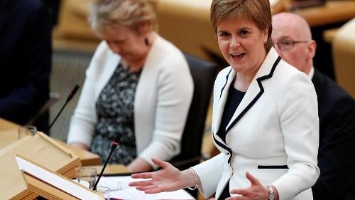 Schottland: Sturgeon will zweites Unabhängigkeitsreferendum
