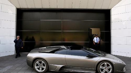 Mexico to auction Lamborghini, other seized assets to help poor