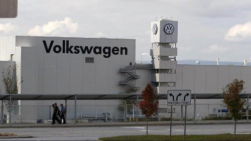 Recul des ventes de Volkwagen dans le monde