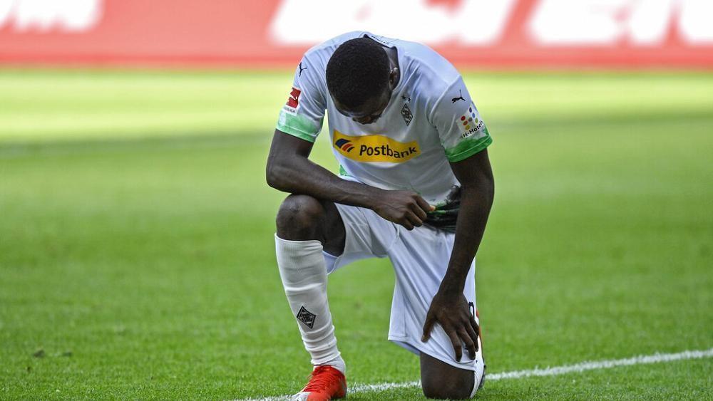 """""""Starke Geste"""" gegen Rassismus von Weltmeister-Sohn Marcus Thuram (22)"""