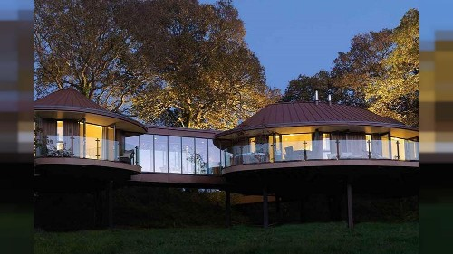 We tried a treehouse suite amongst the ancient trees of the New Forest