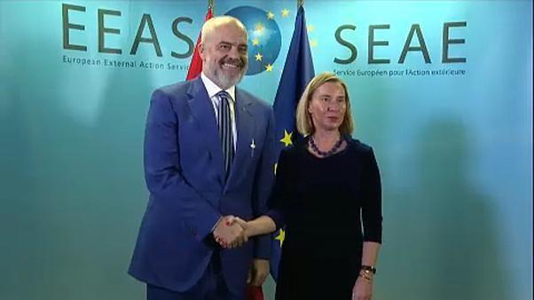 EU summit divided over Western Balkans