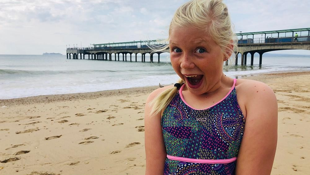11-year-old swims 2600m in open water to raise money for endangered species