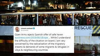 UNHCR official criticises 'the radicalisation of migratory dreams'