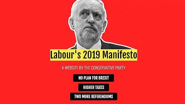 UK snap general election 2019: Conservatives launch 'fake' manifesto website for rivals Labour