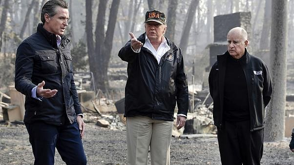 Trump threatens to pull federal aid for California wildfires