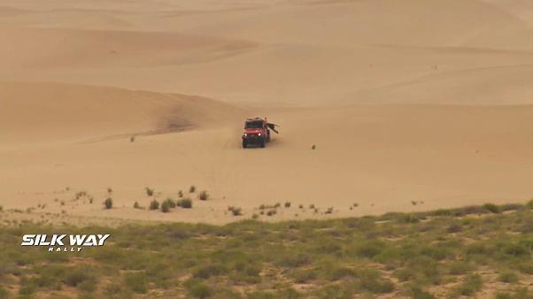 Silk Way Rally 2019: successi di tappa per Al-Attiyah, Shibalov e Kevin Benavides