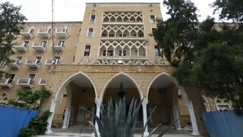 Zypern: Geisterhotel in der Pufferzone