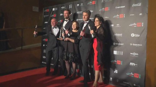 Cold War is the big winner at the European Film Awards in Seville