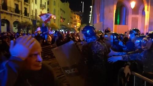 Zusammenstöße bei Demonstrationen in Beirut