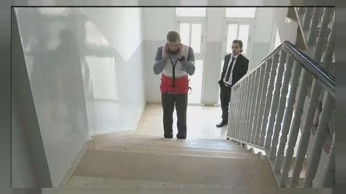 Smart vest-wear tech helps the blind to walk unaided