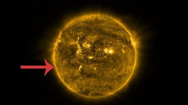 Spot the ball: can you see little Mercury transiting across the face of the sun?