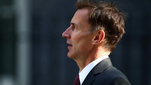 Theresa May 'will be there' to welcome Trump on 3 June: Jeremy Hunt