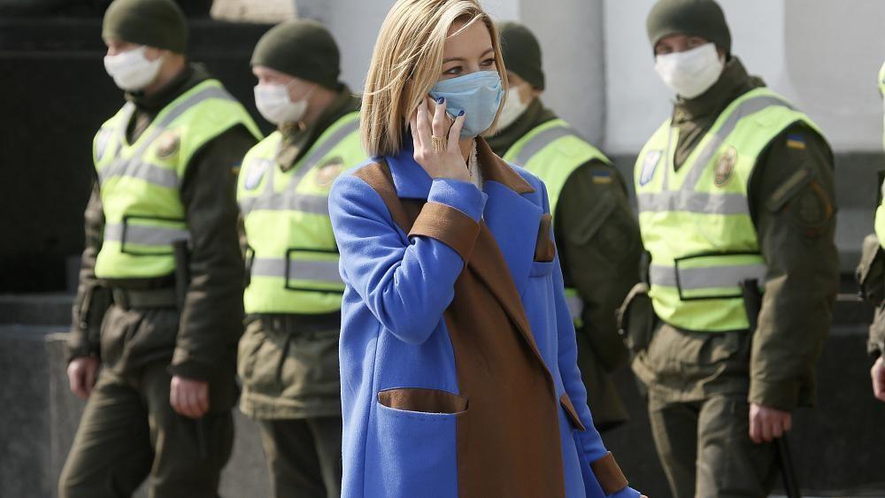 Europe's COVID-19 lockdown leaves new families in limbo in Ukraine