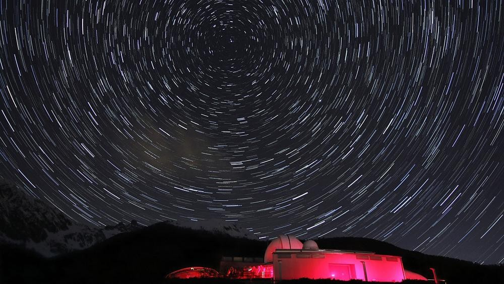 Italy's Saint-Barthélemy valley in Aosta is a paradise for star gazers