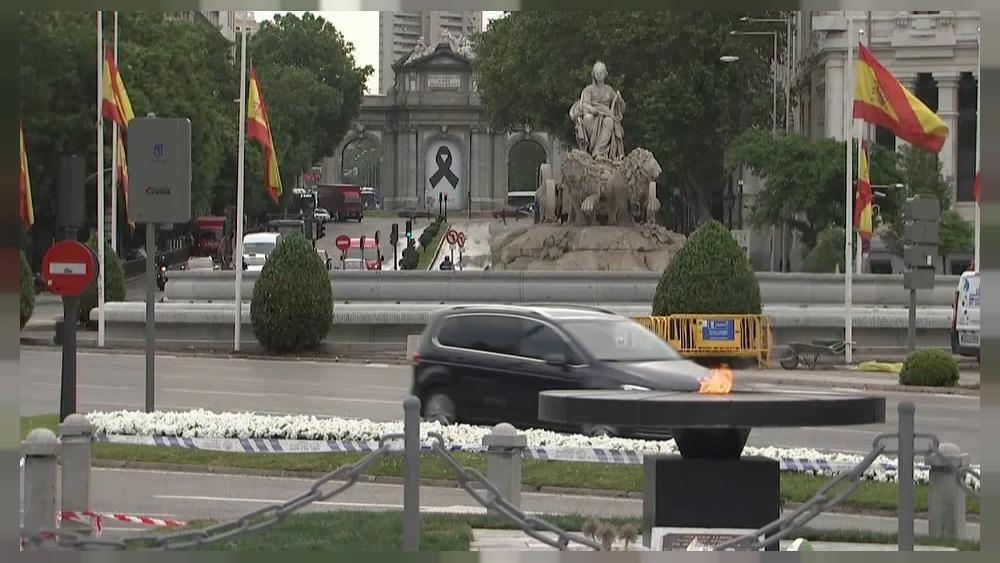 Espanha cumpre 10 dias de luto nacional