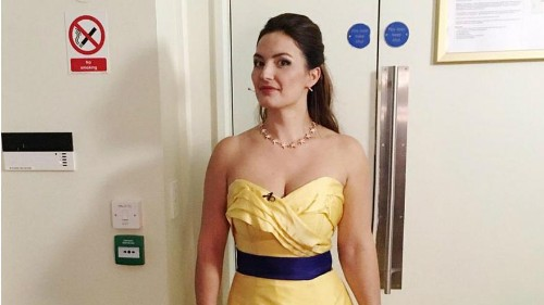 Opera singer asked to change 'provocative' pro-EU dress for London performance
