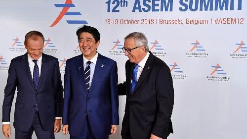 Un sommet Asie-Europe pour resserrer les rangs