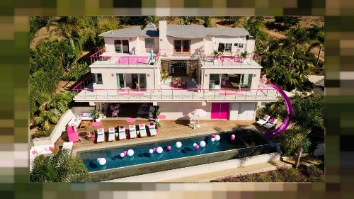 Now you can stay at the real life Barbie Dreamhouse on Airbnb