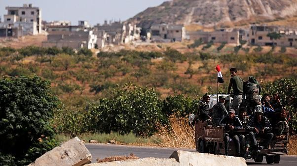 Exército sírio avança sobre posições rebeldes