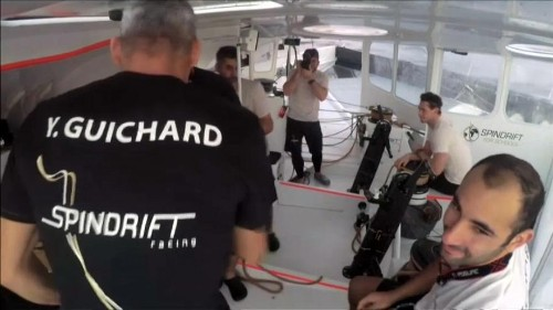 Trofeo Jules Vernes: record di Spindrift 2 all'Equatore